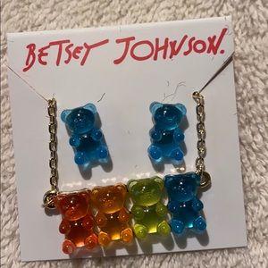 NWT Betsey Johnson gummy jewel